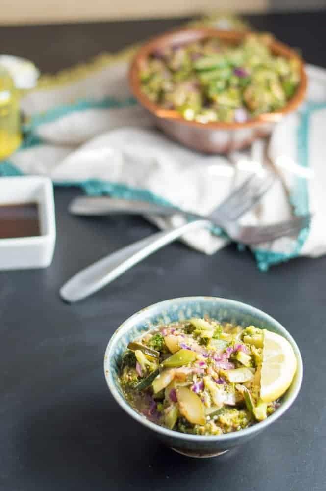 The Movement Menu - Warmed Asian Broccoli Bowls