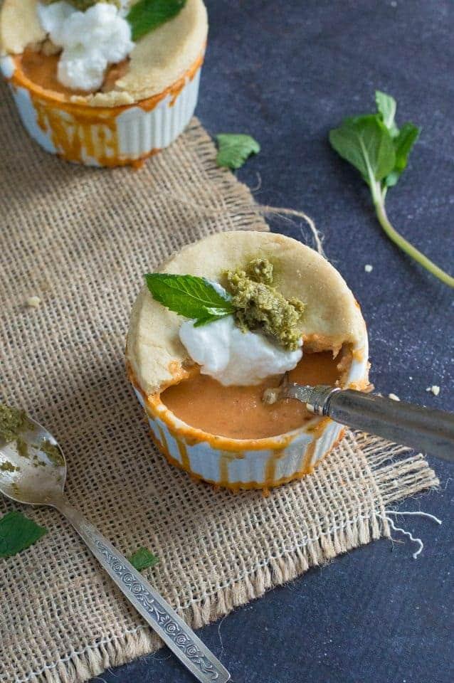 The Movement Menu - Bread-Crusted Creamy Tomato Soup