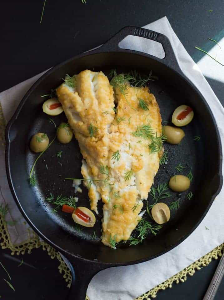 The Movement Menu - Baked Lemon Cod with Ghee