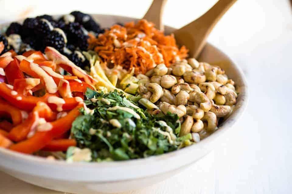 Whole30 compliant & vegan Thai Curry Salad
