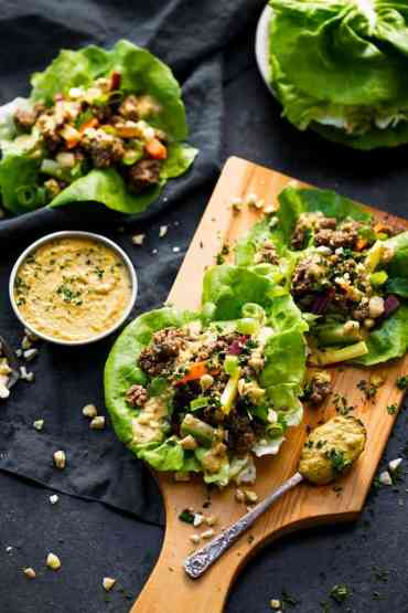 Easy Whole30 Lettuce Wraps 6