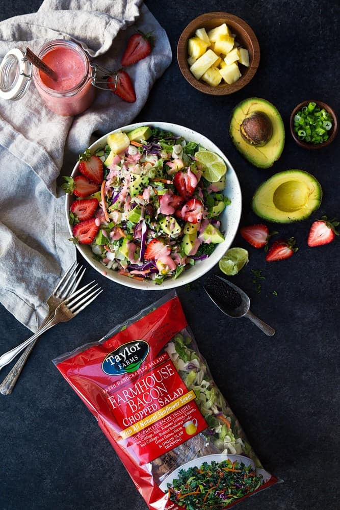 Paleo Strawberry Avocado Salad recipe