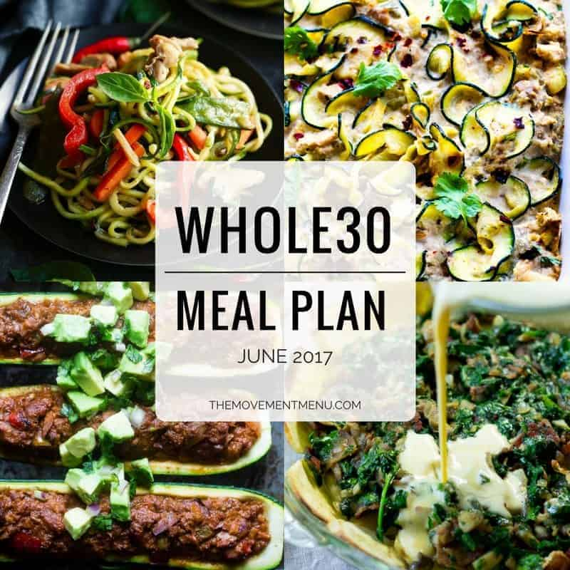 Complete Whole30 Meal Plan | A Summer Whole30 meal plan that's quick and healthy! Easy Whole30 Meal Plan. Best Whole30 meals. Whole30 recipes just for you. Best Trader Joe's shopping list. Whole30 meal planning. Whole30 meal prep. Healthy paleo meals. Healthy Whole30 recipes. Easy Whole30 recipes. Whole30 dinner recipes. Whole30 lunch recipes. Summer whole30 meal plan.