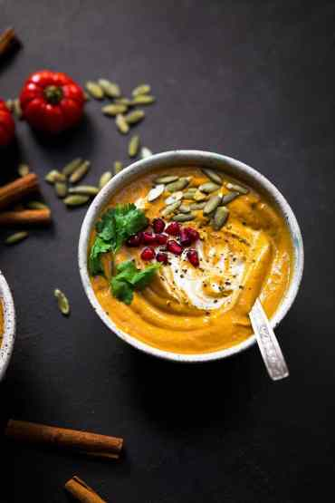 Easy Vegan Pumpkin Soup 1