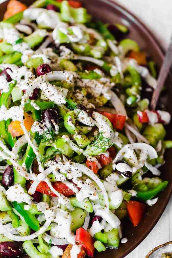 Paleo and Whole30 Greek Salad