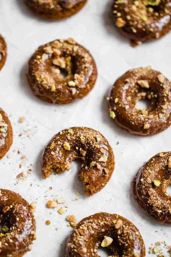 Baklava paleo donuts