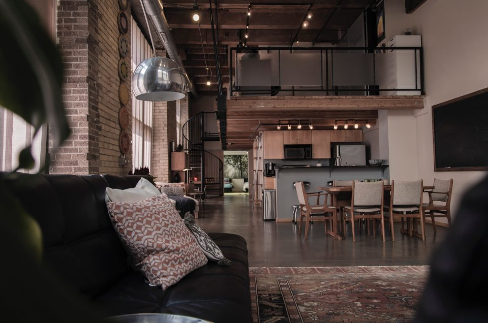 a typical loft in LA