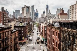 Manhattan neighborhood.
