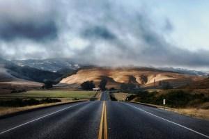 A road in CA.