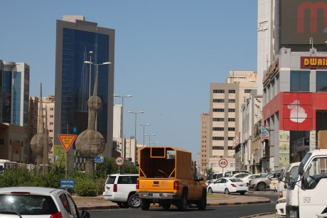 Downtown in Kuwait City as the first answer to the question - where are American citizens emigrating?