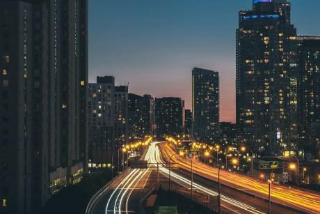 Toronto downtown.