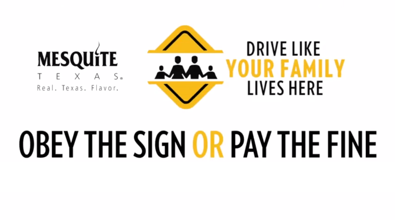 Obey the Sign or Pay the Fine