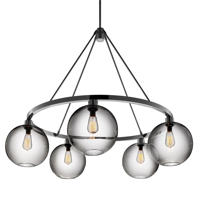53 Modern Chandelier Lighting Contemporary Crystal Pendant Intended For 1 Of