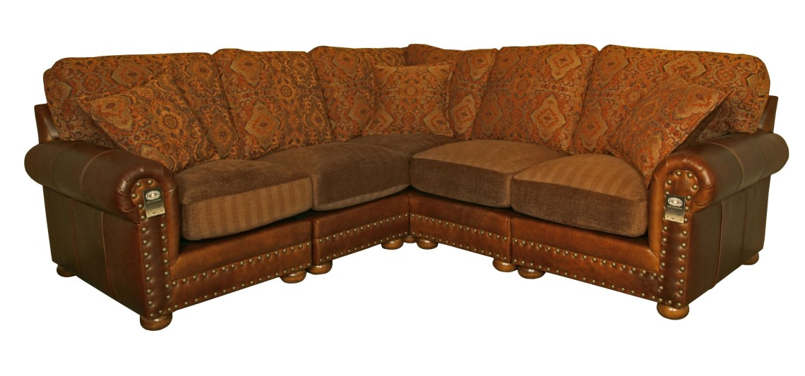 Image Result For Abbyson Living Charlotte Dark Brown Sectional Sofa And Ottoman