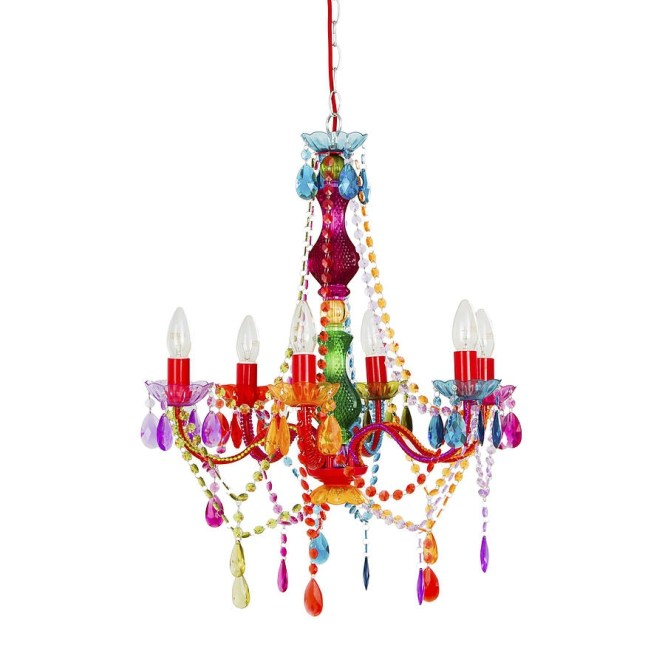 Inspiration About Rainbow Chandelier House Stuff Pinterest Chandeliers And In Colourful 8