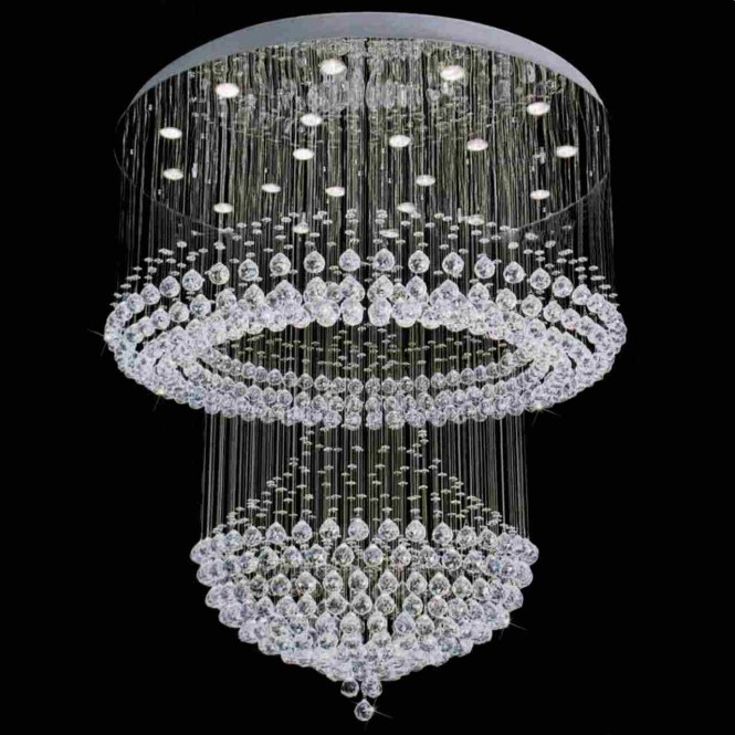 Inspiration About Used Crystal Chandeliers For Lightupmyparty Inside 6 Of 12
