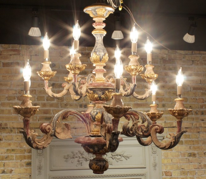 Antique Italian Chandelier Furniture Inside Vintage Chandeliers 3 Of 12