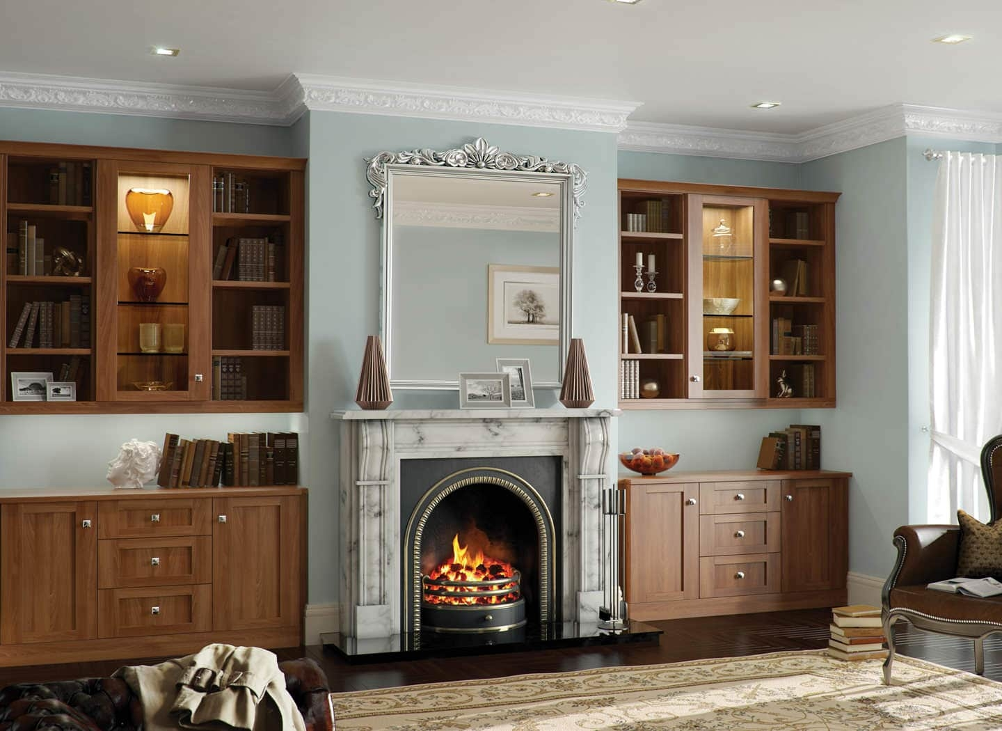 15 Collection Of Living Room Fitted Cabinets