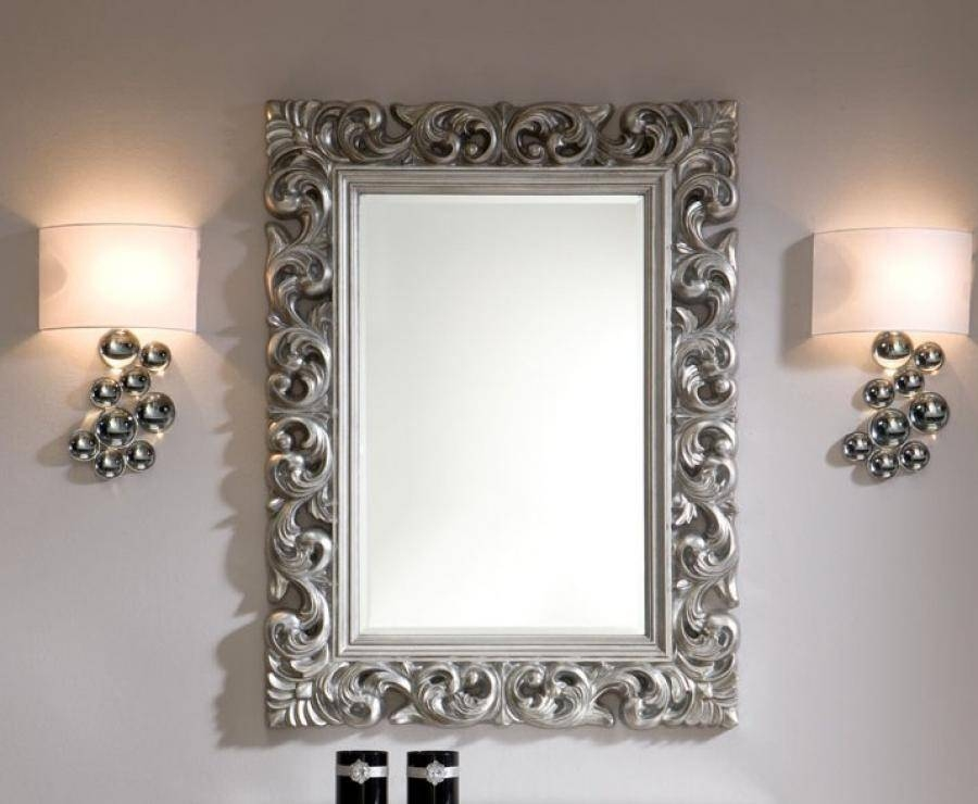 20 Best Of Silver Ornate Wall Mirrors