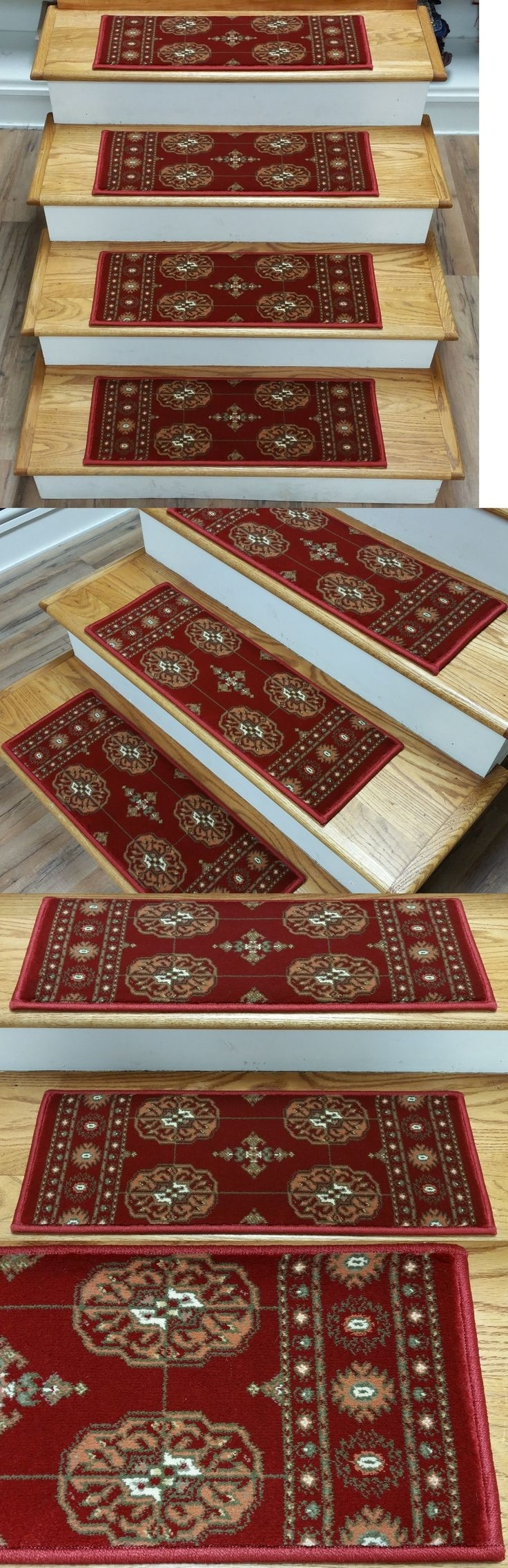 20 Best Collection Of Removable Carpet Stair Treads   Removable Carpet For Stairs