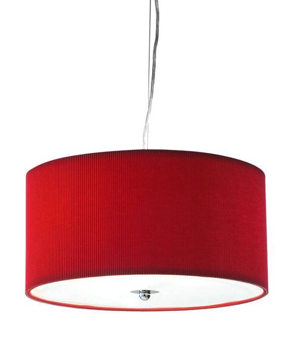 Red Drum Pendant Light