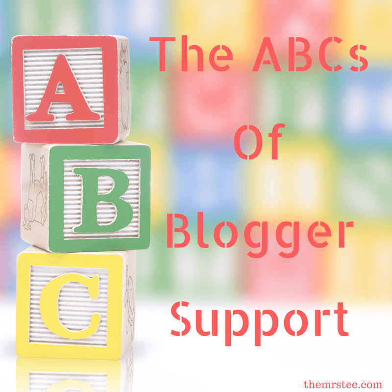 The ABCs Of Blogger Support