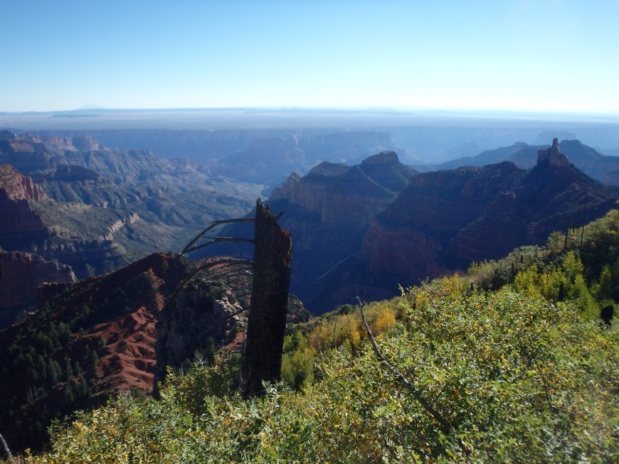 Early morning sun from the North Rim, Kibbey far below.
