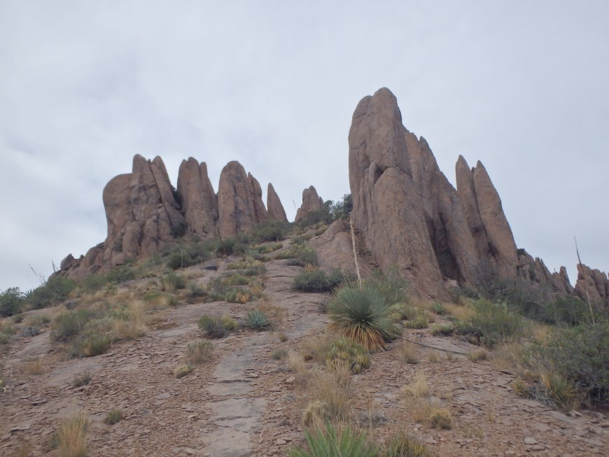 Summit pinnacles.