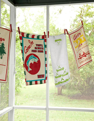 Country Living Tea Towels