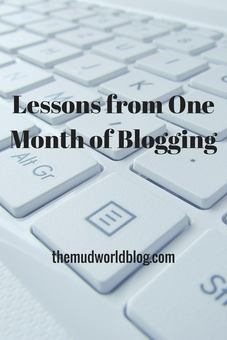 Lessons from One Month of Blogging Pinterest