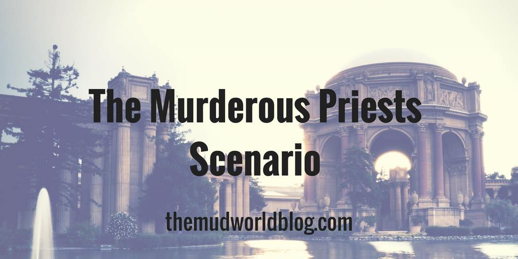 The Murderous Priests is a fantasy scenario of deception, betrayal, and action in five short scenes for an adventure or a story.