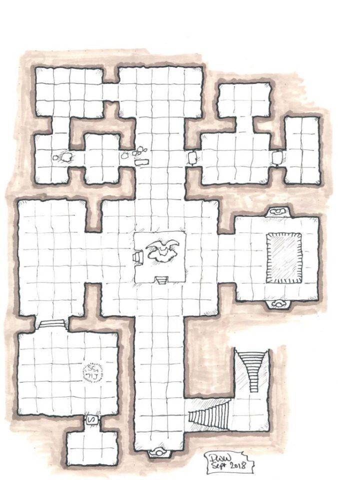 The Binder's Sanctum Dungeon.