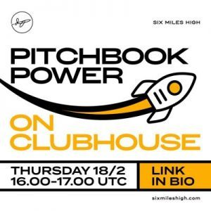 Pitchbook Power Room 18 Feb Clubhouse banner