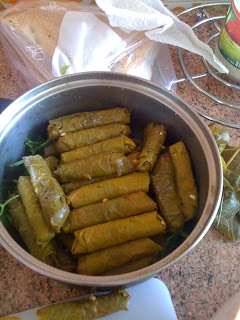 Turkish Stuffed Grape Leaves / Yaprak Sarma food