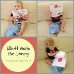Elliott Visits the Library #1