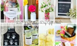 DIY Mother's Day Gift Ideas #MummyMondays