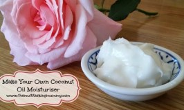 Make Your Own Coconut Oil Moisturiser