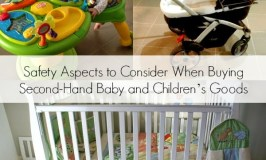 Safety Aspects to Consider When Buying Second-Hand Baby and Children's Goods