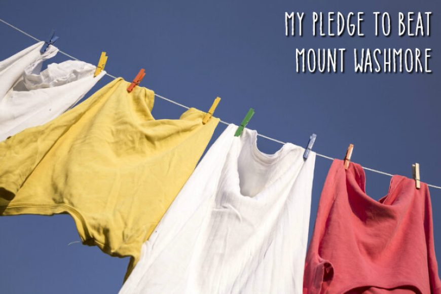 My Pledge to Beat Mount Washmore