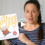 Eva Reads Busting by Aaron Blabey