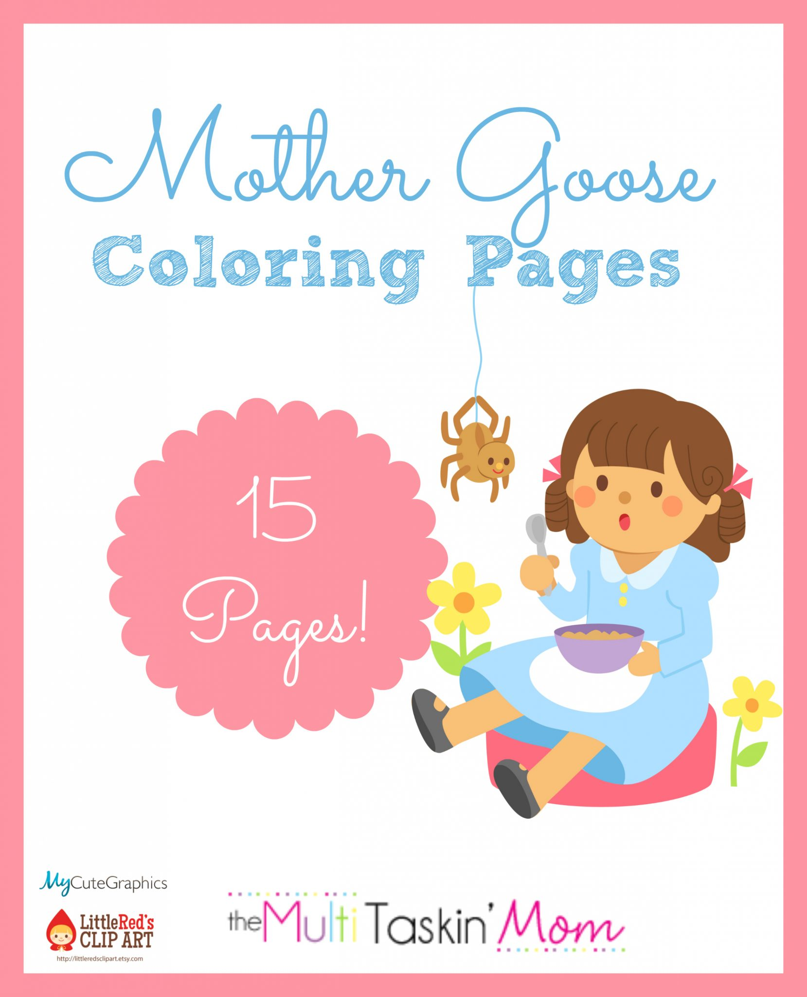 Free Mother Goose Themed Coloring Pages