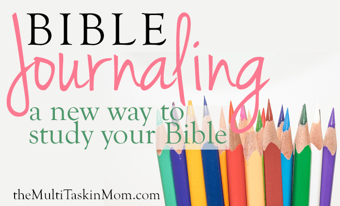 Bible Journaling a New Way to Study the Bible guest post