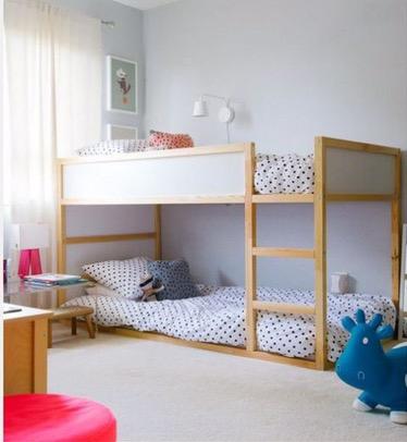 Ikea Bunk Kura Hack And Children S Bedroom Style The Mum Mom