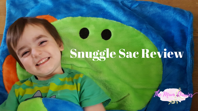 SnuggleSac – The fun and funky sleeping bag – Giveaway!