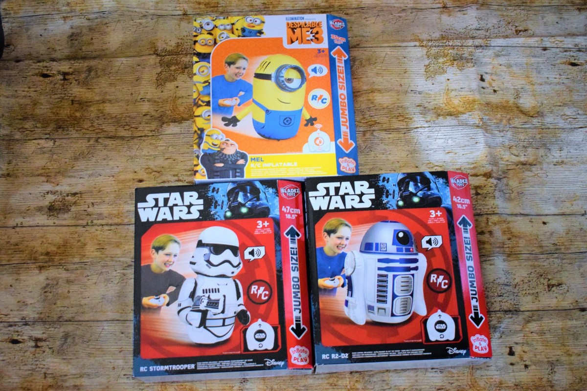 Bladez Toyz - Inflatable StarWars/Minions Inflatable RC