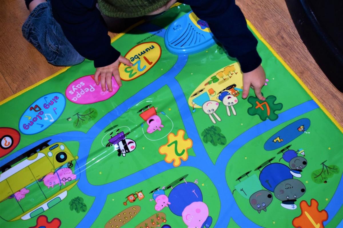 The Peppa Pig interactive Play Mat