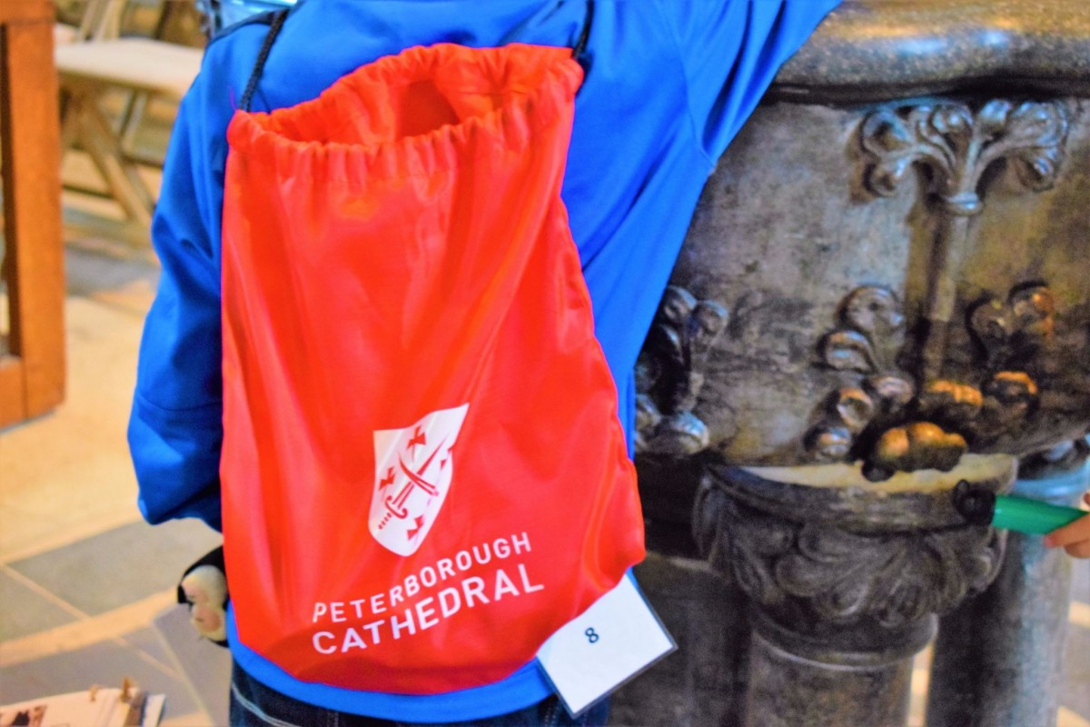 Peterborough Cathedral Explorer Backpacks
