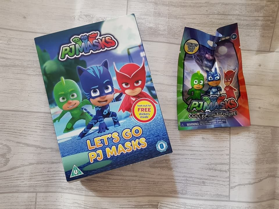 Pj Masks DVD 'Let's Go' and Blind Bag