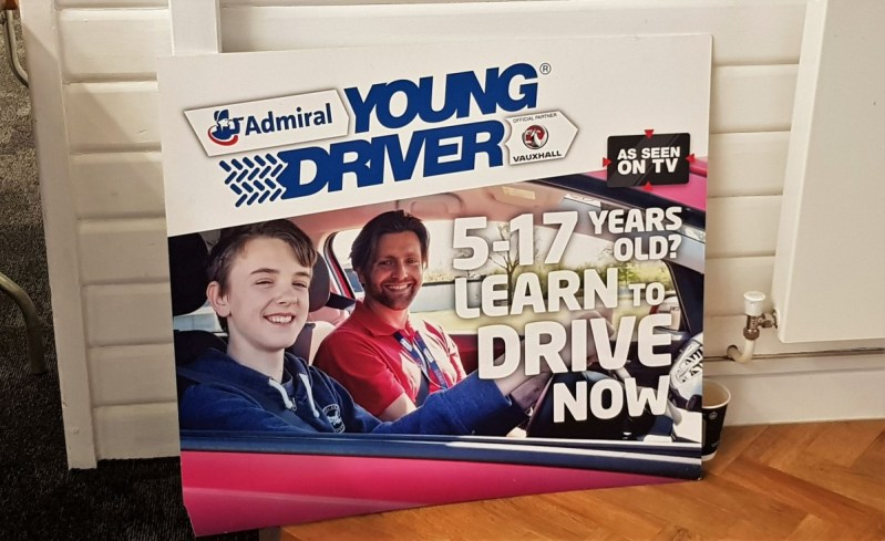 Learning to drive at 12 years old – Young Driver
