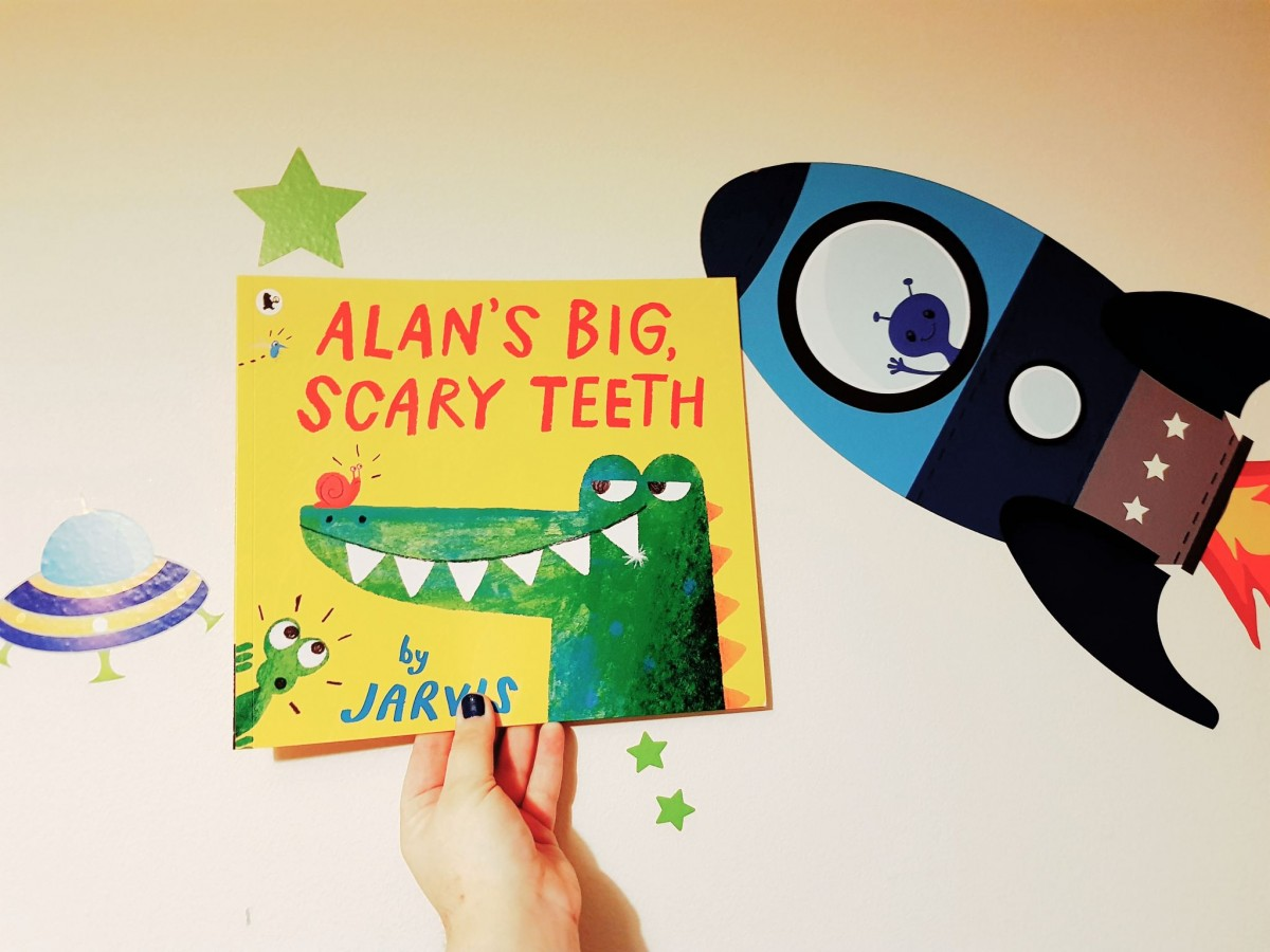Alans big scary teeth book - #TheMumDiariesBedtimeStories